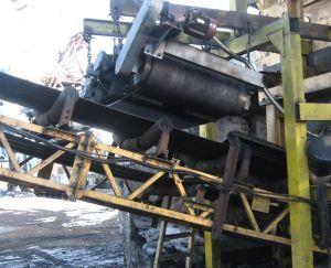 установка саморазгружающегося железоотделителя
