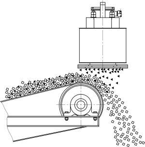 подвесной железоотделитель
